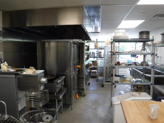 The kitchen at Five Loaves Bakery & Cafe has enough
