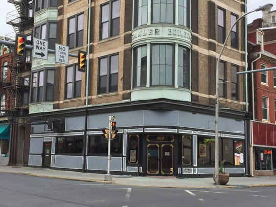 The Samer Building located at the corner of Eighth and Cumberland streets in downtown Lebanon is considered prime location for a business.