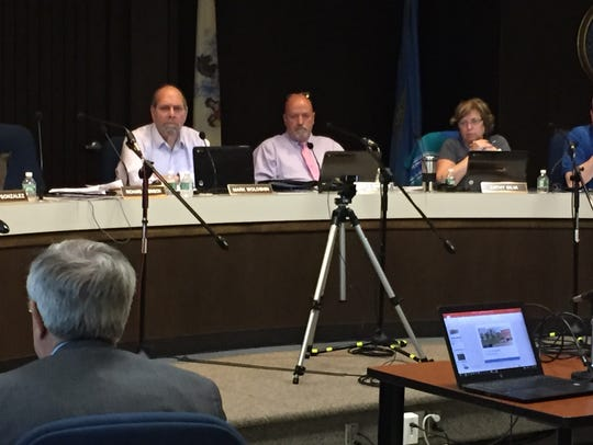 Eatontown Planning Board officials listen to testimony