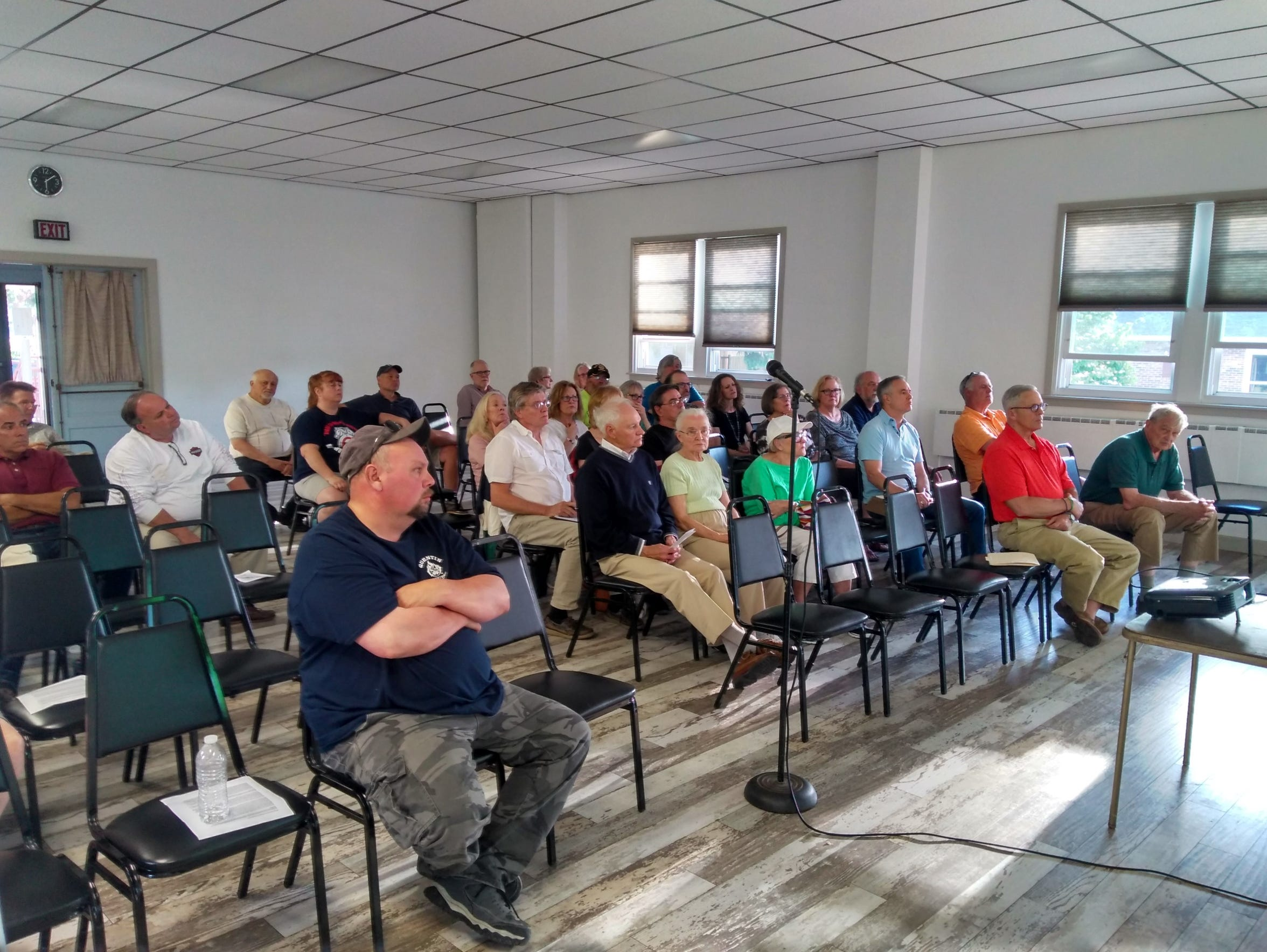 West Cornwall Township residents gave professionals