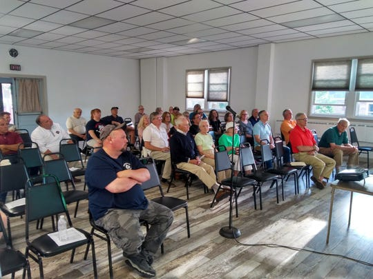 West Cornwall Township residents gave professionals tasked with remediation at the Sunoco pump station site a skeptical hearing during a June 12 public meeting.