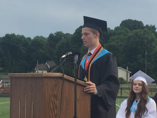 Matthew DeSantis is the valedictorian of Marlboro High