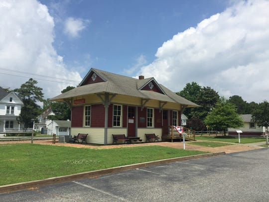 The Eastern Shore Railway Museum in downtown Parksley,