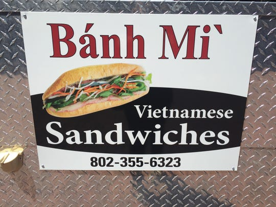 The new banh mi cart is conveniently named Banh Mi,