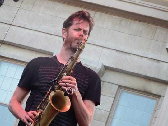 Donny McCaslin performs at the Summer of the Arts JazzFest