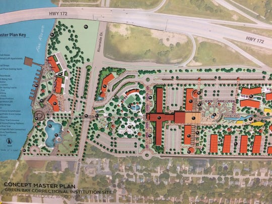 A conceptual design for what redevelopment could look