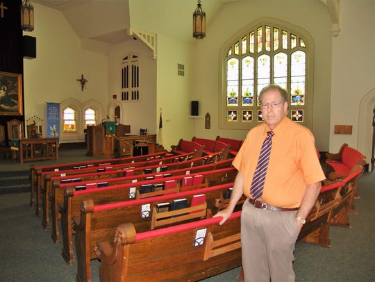 Rev. Philip Hunt retired as pastor of Central Christian