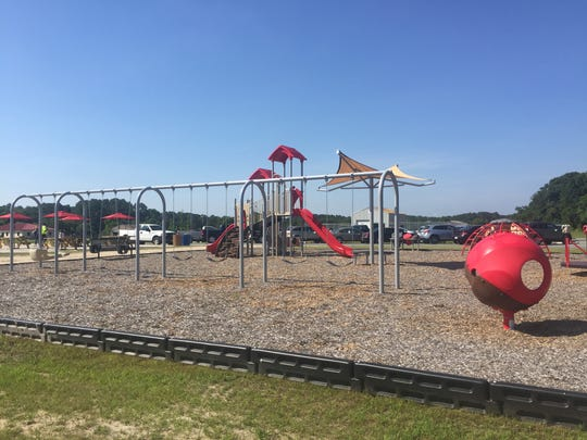 Accomack's Sawmill Park,  at 24387 Joynes Neck Road in the town of Accomac, was dedicated on Saturday, June 30, 2018.