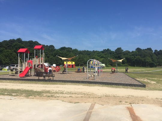 The playground at Sawmill Park in Accomac, Virginia on Saturday, June 30, 2018.