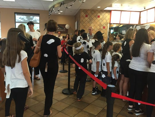 Be prepared for big crowds at Chick-fil-As annual Cow Appreciation Day on Tuesday.