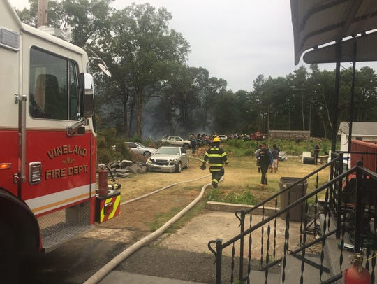 Fire destroyed more than a dozen vehicle July 4, 2018