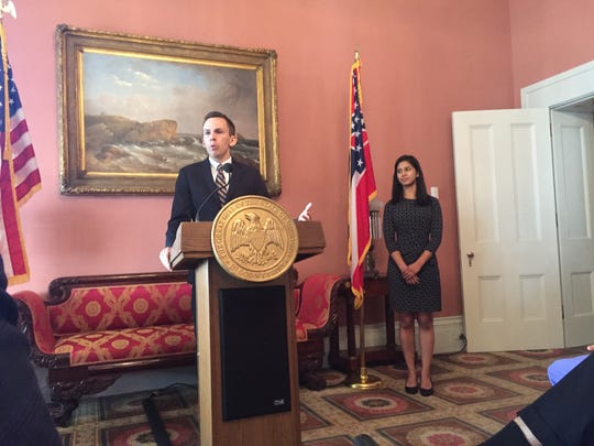 Newly appointed State Auditor Shad White addresses