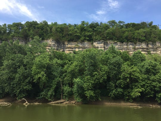 The Palisades over the Kentucky River.