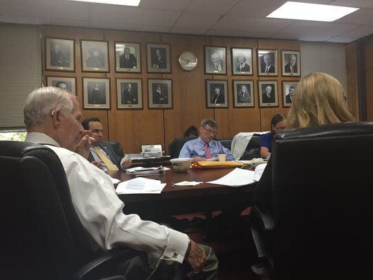 Scarsdale officials discuss an amendment to the village's