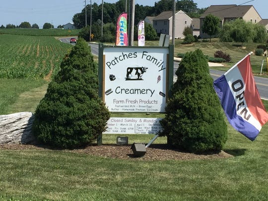 Patches Family Creamery at 201 Fonderwhite Road, Lebanon was named to the Pennsylvania Ice Cream Trail on Wednesday.
