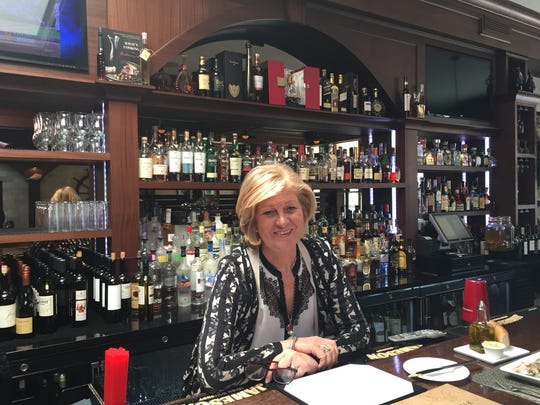 Nada Bernic, restaurant manager at Dubrovnik Restaurant in downtown New Rochelle.