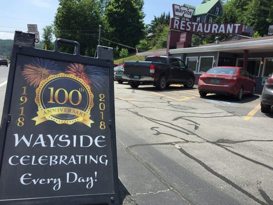 The Wayside Restaurant on the Montpelier/Berlin line
