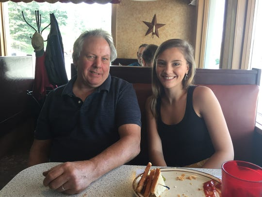 Bill and Stacey Snyder of Berlin are regulars at the