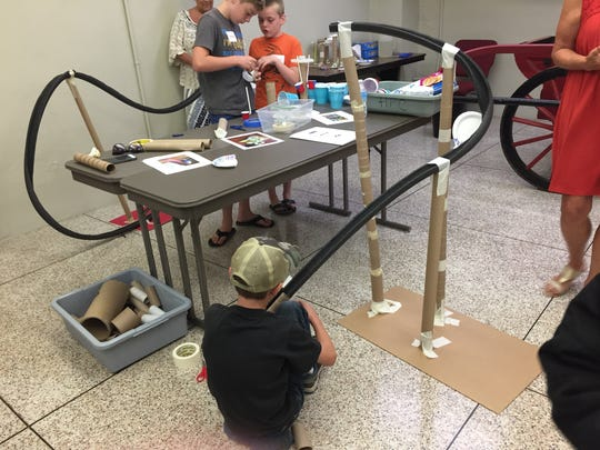 "The ""Hands-On History"" session offered this summer by the Hayes Presidential Library and Museums featured a lesson on roller coasters that taught the students about physics and history."