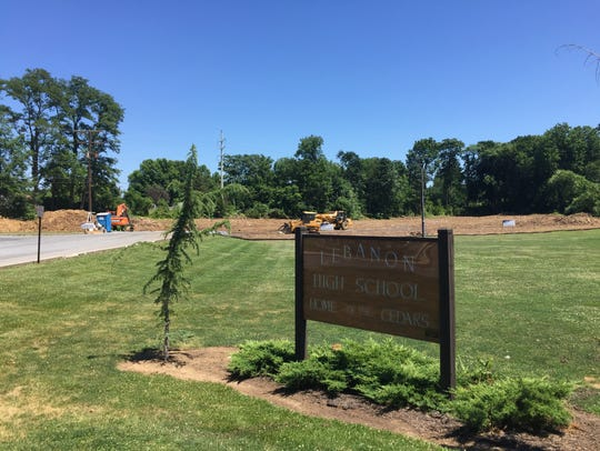 The site of a new $1.8 million veterinary clinic being