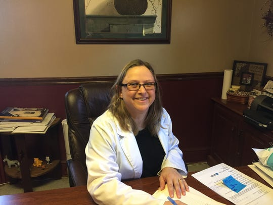 Dr. Tammy Stone, owner of the Veterinary Medical Center