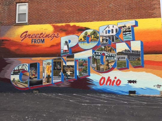 A new mural highlighting the history and beauty of Port Clinton was recently completed on the west-facing wall of the Clinton House restaurant at 106 W. Perry St.