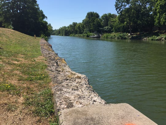 Henpeck Park in Greece along the Erie Canal. A 6-year-old girl died in the park on July 19, 2018.