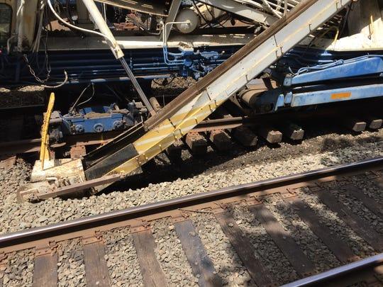 "Metro-North workers are using ""undercutting"" machines"