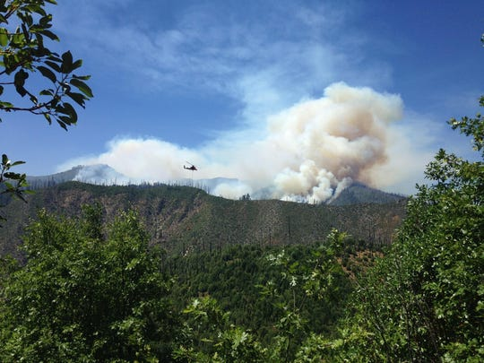The wildfires burning in the Kalmiopsis WIlderness