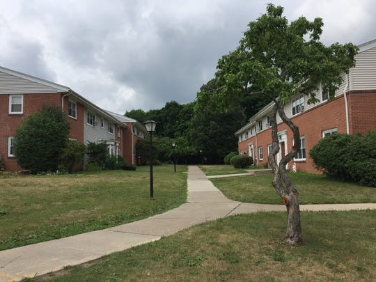 Rochester Highland Apartments on Green Knolls Drive in Rochester, New York, is where 101-year-old Marcia Morrison was found killed in her home July 24, 2018.