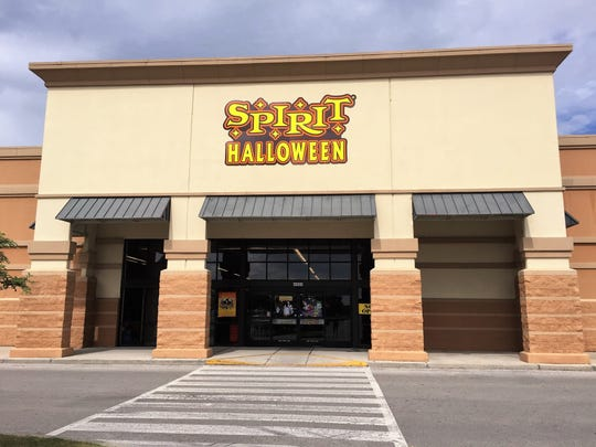 the spirit halloween store located on ambassador caffery