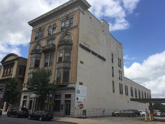 The future site of Lebanon Wellness Center, a medical marijuana dispensary, located in the Mann Building at 815 Cumberland St., Lebanon, Aug. 1, 2018.