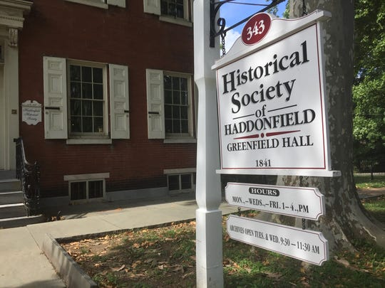 The Historical Society of Haddonfield, founded in 1914, now has about half of its archives in storage.