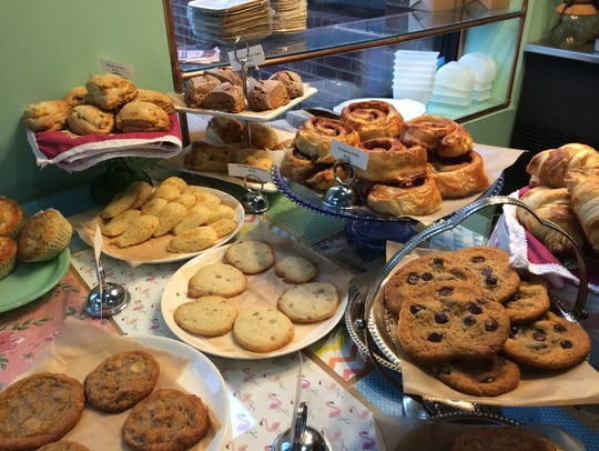An array of tempting cookies await at Southern Velvet