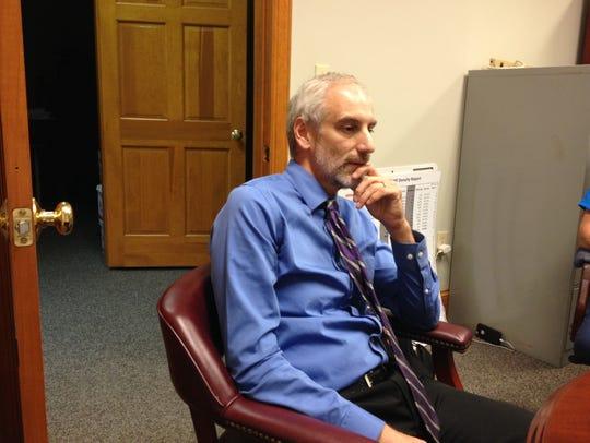 Martin Balinsky, a TCC professor and vice president