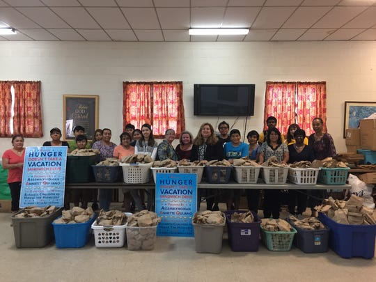 Assemblywoman Annette Quijano launched a month-long food drive to combat hunger among local homeless men, women and children in New Jersey.