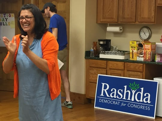 Rashida Tlaib, who is running for Congress in the 13th