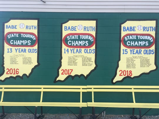 New Castle has won three consecutive Babe Ruth state