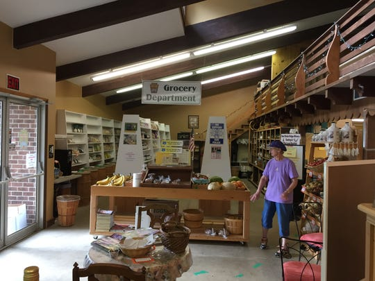 A peek inside Palmyra Real Food Emporium.