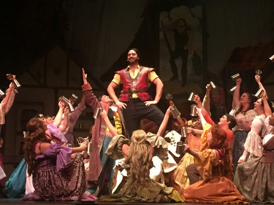 Gaston, portrayed by Stephen Seserko, is the narcissistic