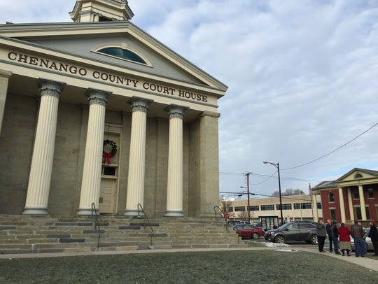 Chenango County Court House on Dec. 4, 2014