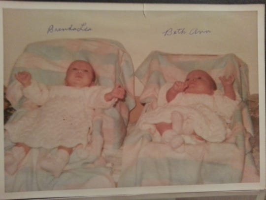 Twins Brenda and Beth Summerfield died eight months apart in 1969 and 1970.