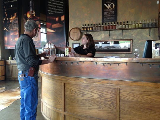 RoughStock tasting room