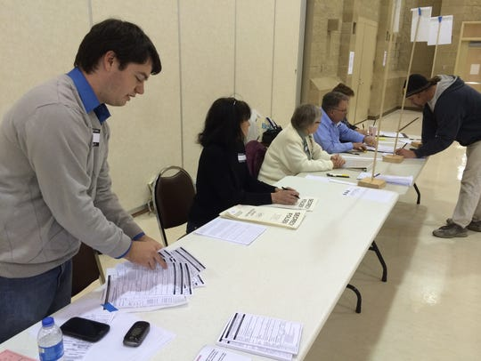 Kevin Shannon counted almost 50 same-day registrations