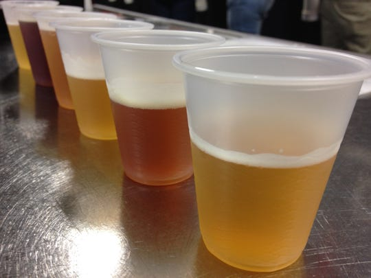 Stop 9: Samples at Sun King Brewing. They do free tastings on Thursday, Friday and Saturday.