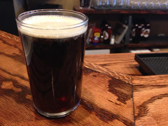 Stop 20: A unique seasonal, a smoked Scottish ale, at Grand Junction Brewing in Westfield.