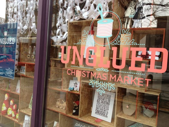 Unglued originally started in Sioux Falls as a pop up holiday shop in the Carpenter building.