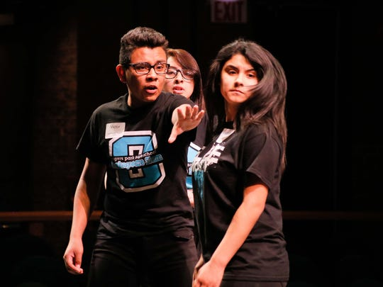 """Teens face off in the """"Battle of the Bard,"""" being presented"""