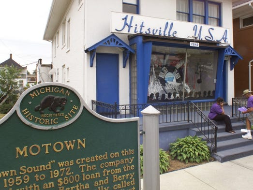 Hitsville U.S.A., a museum dedicated to Motown, is