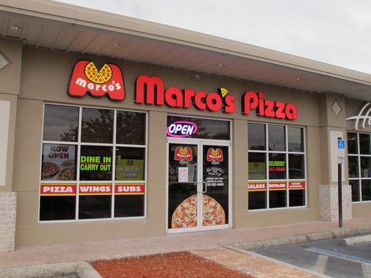 Marco's Pizza opened a Bonita Springs location at the end of October near Lansdowne Street pub in Bernwood Design Centre on U.S. 41 just south of Old 41 Road.